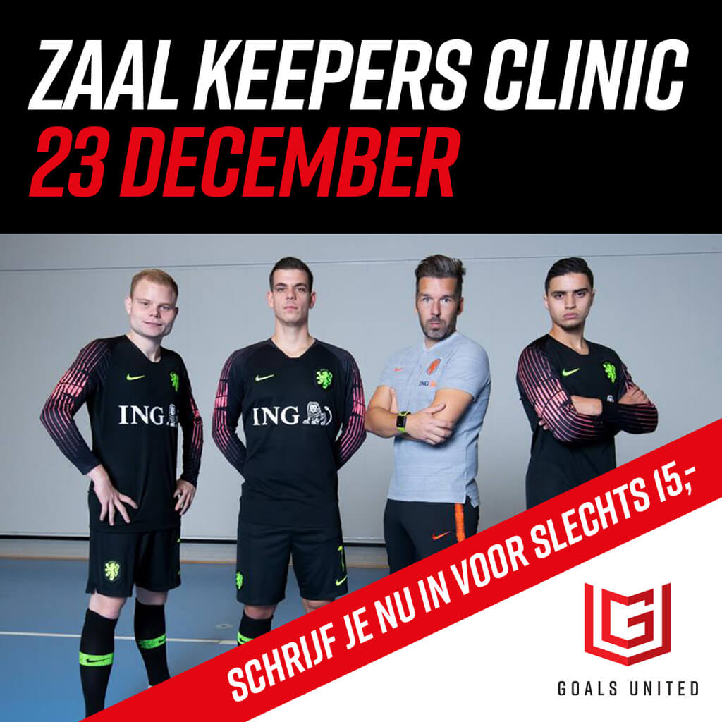 Zaal keepersclinic 23 december